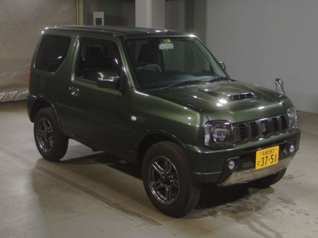 Import and buy SUZUKI JIMNY 2016 from Japan to Nairobi, Kenya