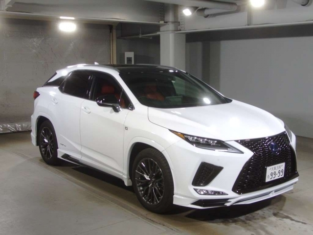 Import and buy LEXUS RX 2019 from Japan to Nairobi, Kenya