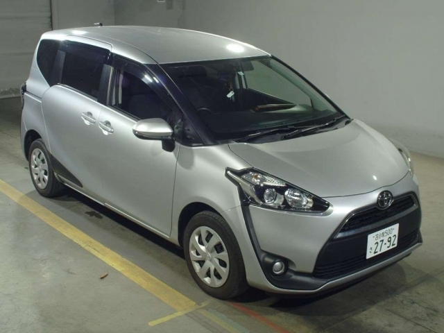 Import and buy TOYOTA SIENTA 2016 from Japan to Nairobi, Kenya