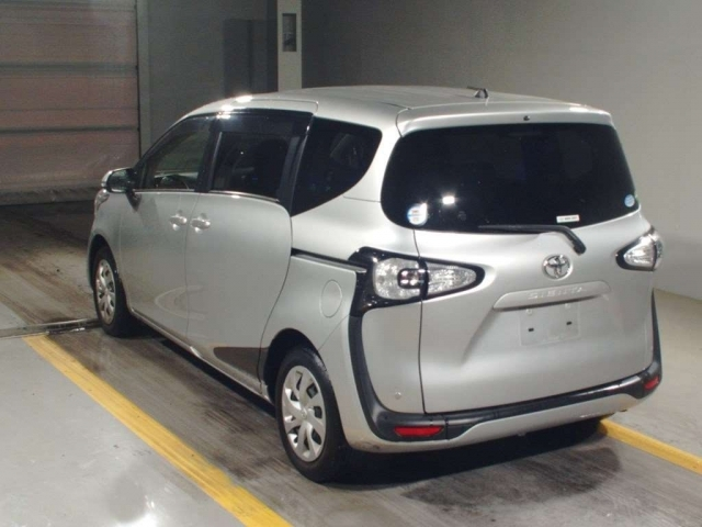 Import and buy TOYOTA SIENTA 2017 from Japan to Nairobi, Kenya
