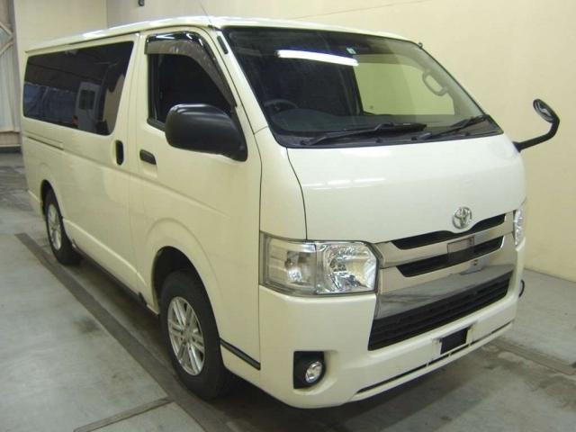 Import and buy TOYOTA REGIUS ACE VAN 2018 from Japan to Nairobi, Kenya