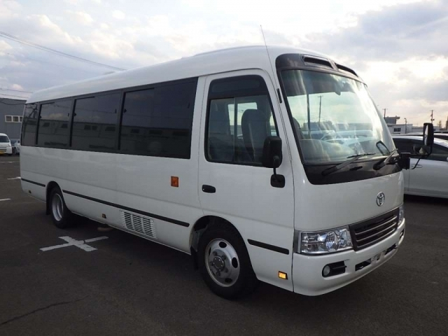 Import and buy TOYOTA COASTER 2016 from Japan to Nairobi, Kenya
