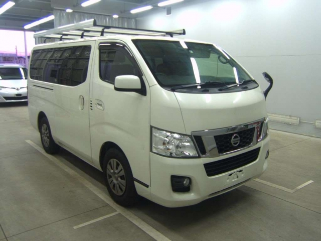 Import and buy NISSAN CARAVAN VAN 2014 from Japan to Nairobi, Kenya