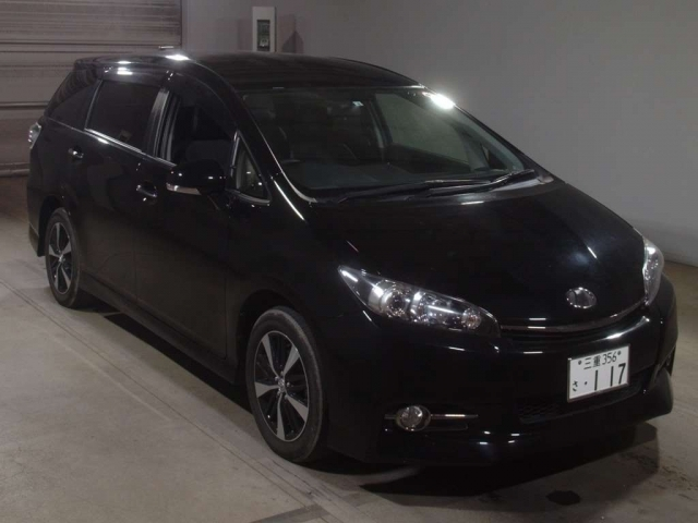 Import and buy TOYOTA WISH 2016 from Japan to Nairobi, Kenya