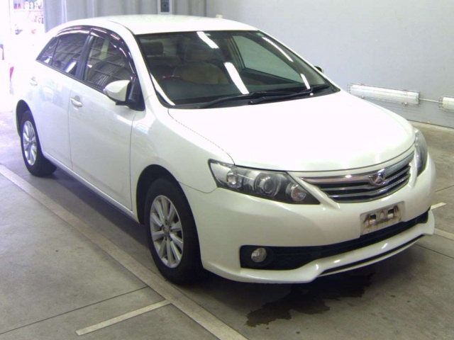 Import and buy TOYOTA ALLION 2013 from Japan to Nairobi, Kenya