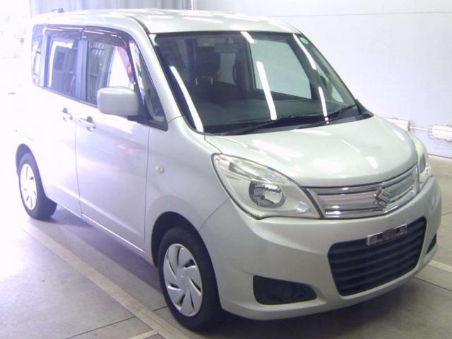 Import and buy SUZUKI SOLIO 2014 from Japan to Nairobi, Kenya