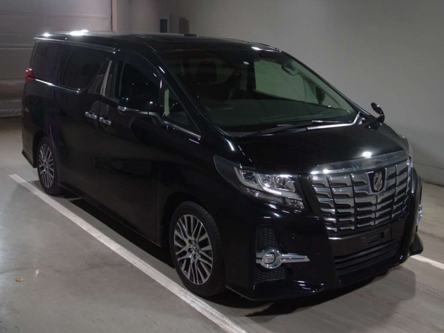Import and buy TOYOTA ALPHARD 2017 from Japan to Nairobi, Kenya