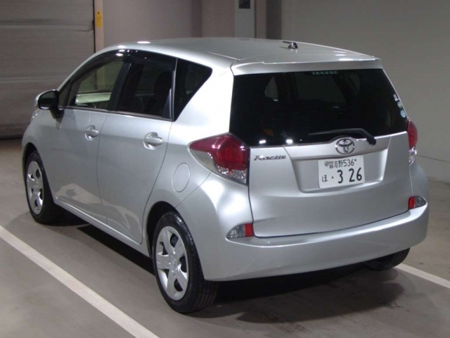 Import and buy TOYOTA RACTIS 2015 from Japan to Nairobi, Kenya