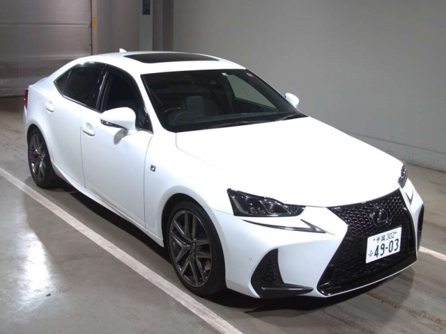 Import and buy LEXUS IS 2016 from Japan to Nairobi, Kenya