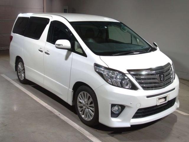 Import and buy TOYOTA ALPHARD 2014 from Japan to Nairobi, Kenya
