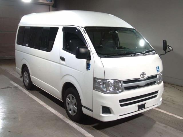 Import and buy TOYOTA HIACE VAN 2014 from Japan to Nairobi, Kenya