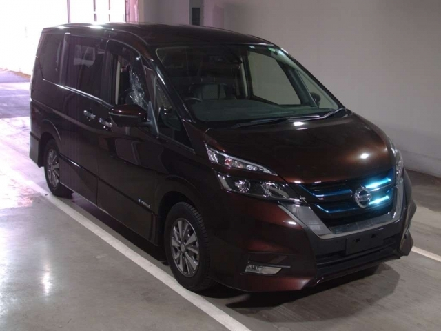 Import and buy NISSAN SERENA 2018 from Japan to Nairobi, Kenya