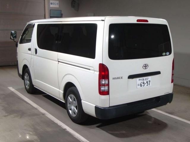 Import and buy TOYOTA HIACE VAN 2016 from Japan to Nairobi, Kenya