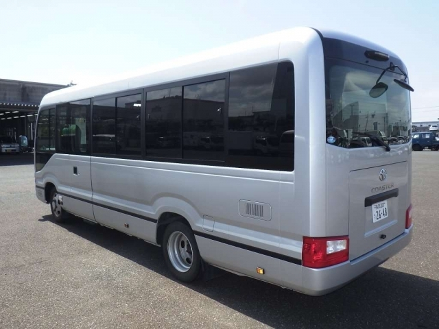Import and buy TOYOTA COASTER 2018 from Japan to Nairobi, Kenya