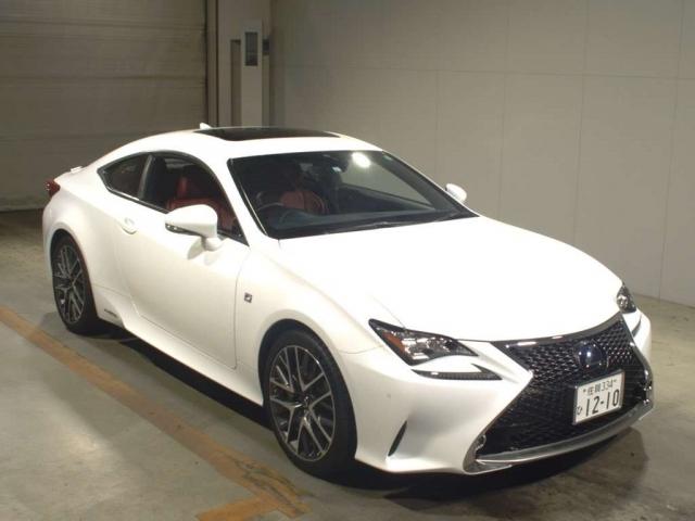 Import and buy LEXUS RC 2015 from Japan to Nairobi, Kenya