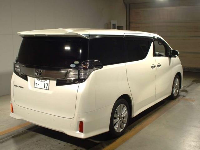 Import and buy TOYOTA VELLFIRE 2015 from Japan to Nairobi, Kenya