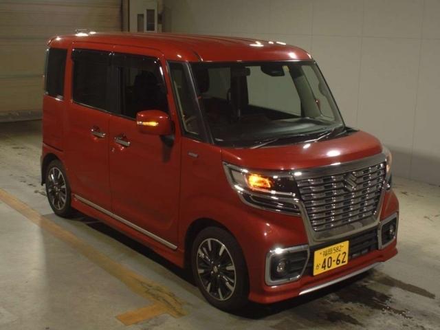 Import and buy SUZUKI SPACIA 2019 from Japan to Nairobi, Kenya