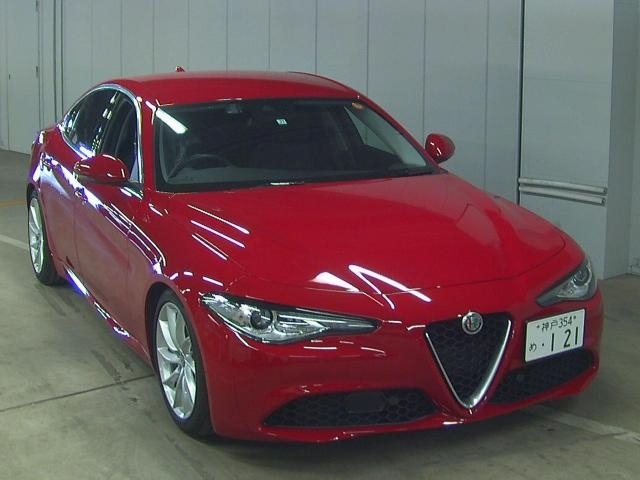 Import and buy ALFAROMEO OTHER 2017 from Japan to Nairobi, Kenya
