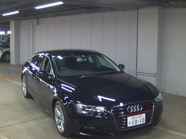 Import and buy AUDI A5 2013 from Japan to Nairobi, Kenya