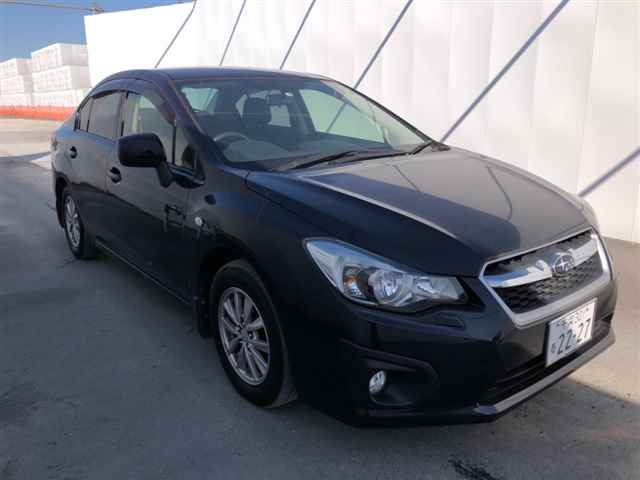 Import and buy SUBARU IMPREZA G4 2014 from Japan to Nairobi, Kenya