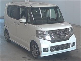Import and buy HONDA N BOX CUSTOM 2016 from Japan to Nairobi, Kenya