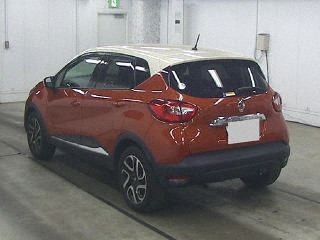 Import and buy RENAULT CAPTUR 2014 from Japan to Nairobi, Kenya