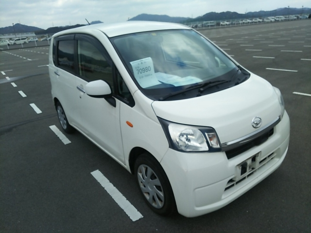 Import and buy DAIHATSU MOVE 2014 from Japan to Nairobi, Kenya