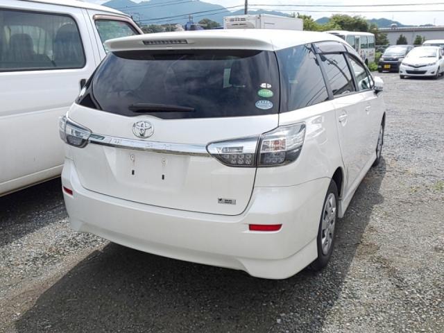Import and buy TOYOTA WISH 2013 from Japan to Nairobi, Kenya