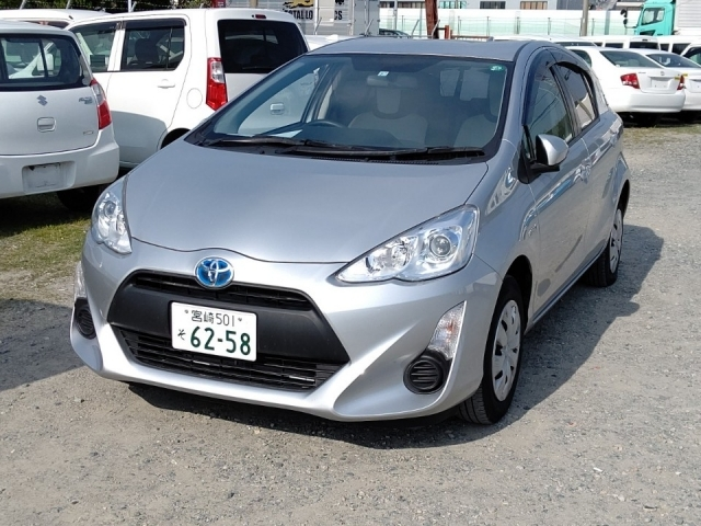 Import and buy TOYOTA AQUA 2015 from Japan to Nairobi, Kenya