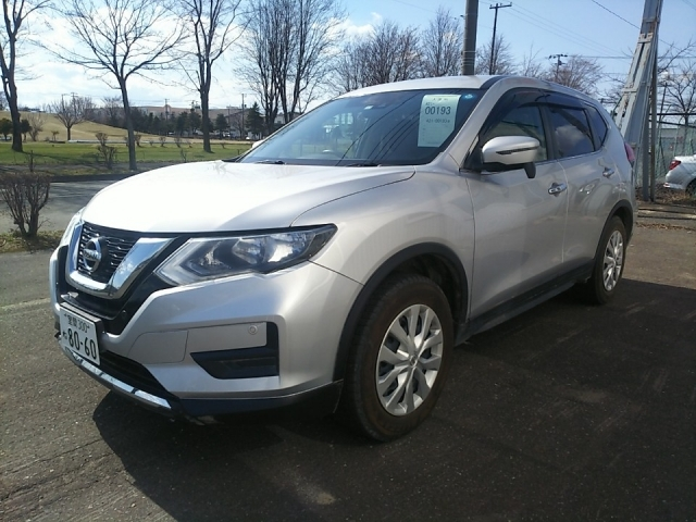 Import and buy NISSAN X-TRAIL 2018 from Japan to Nairobi, Kenya