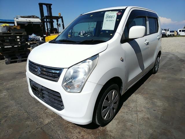 Import and buy SUZUKI WAGON R 2013 from Japan to Nairobi, Kenya