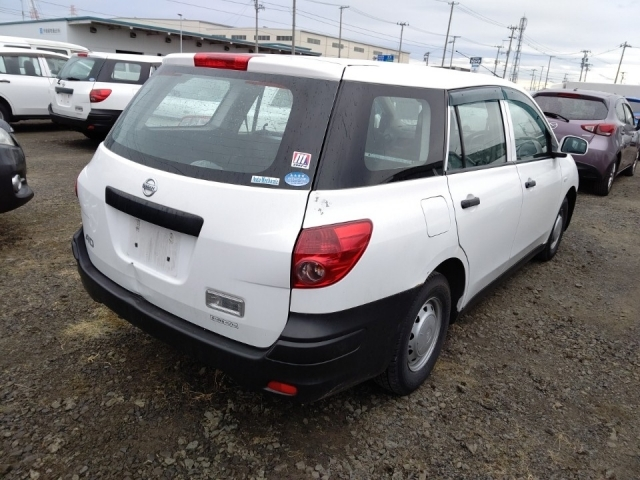 Import and buy NISSAN AD 2015 from Japan to Nairobi, Kenya