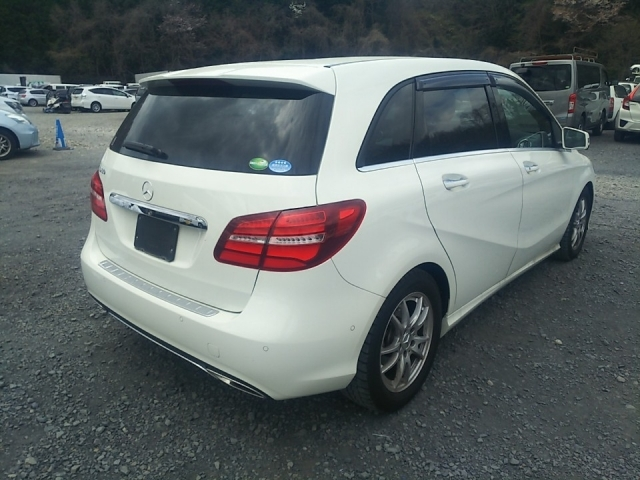Import and buy MERCEDES BENZ B CLASS 2018 from Japan to Nairobi, Kenya