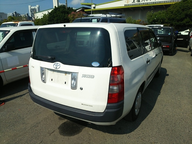Import and buy TOYOTA SUCCEED 2013 from Japan to Nairobi, Kenya