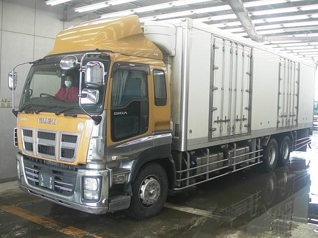 Buy/import ISUZU GIGA (2012) to Kenya from Japan auction