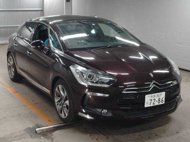 Import and buy CITROEN DS5 2015 from Japan to Nairobi, Kenya