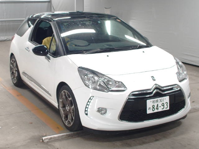 Import and buy CITROEN DS3 2016 from Japan to Nairobi, Kenya