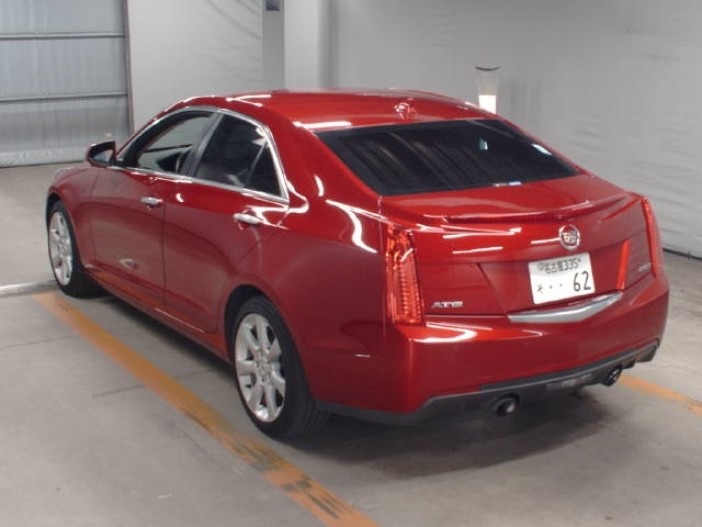 Import and buy GM CADILLAC ATS 2015 from Japan to Nairobi, Kenya