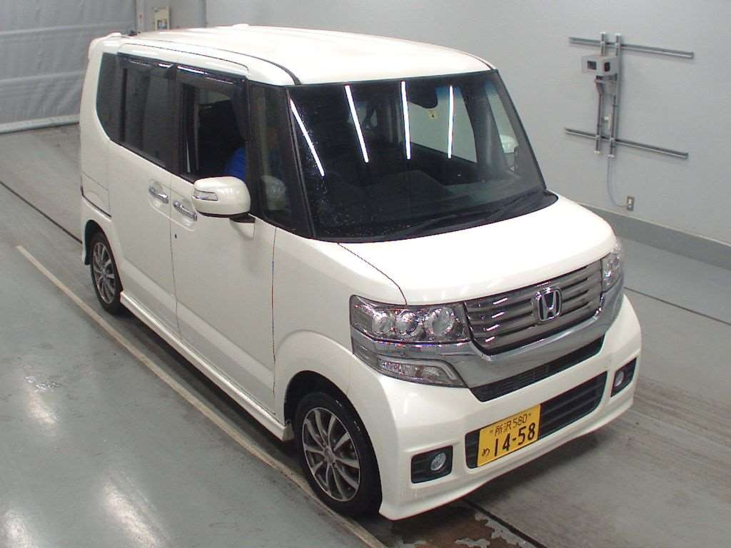 Import and buy HONDA N BOX CUSTOM 2014 from Japan to Nairobi, Kenya