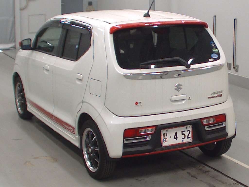 Import and buy SUZUKI ALTO TURBO RS 2016 from Japan to Nairobi, Kenya