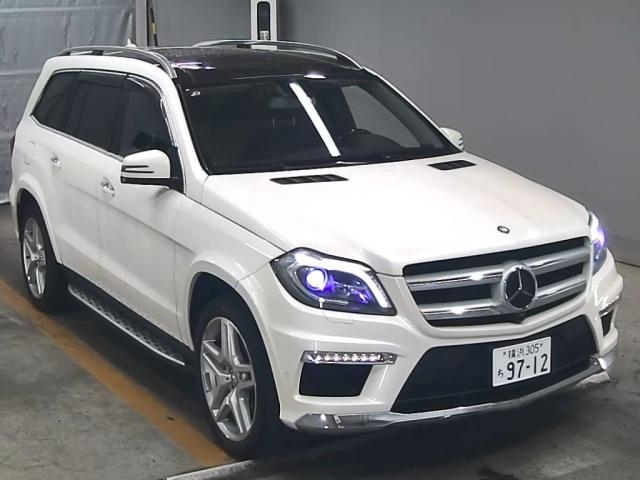 Import and buy MERCEDES BENZ GL CLASS 2014 from Japan to Nairobi, Kenya