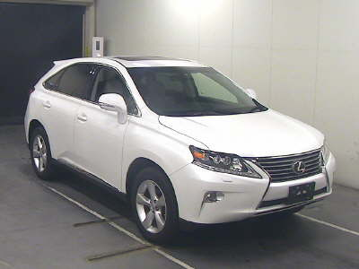 Buy/import LEXUS RX (2012) to Kenya from Japan auction